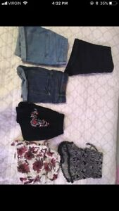 Lot of small women's/ teen clothes