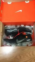 Off white Nike vapour max ua black
