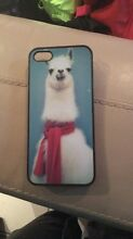 Llama iPhone 5 phone case Petrie Pine Rivers Area Preview