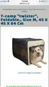 T-camp twister dog/cat kennel/carrier