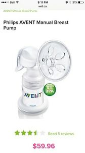 Hand Held Avent Breast Pump