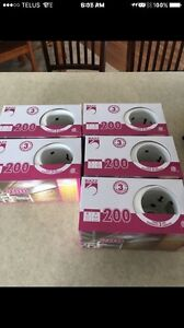 """Recessed Fixture 3 7/8"""" with White Baffle"""