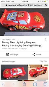 WANTED: lightning McQueen that dances and walks toy Huntingdale Gosnells Area Preview