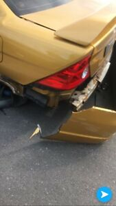 2001 civic coupe si accident car