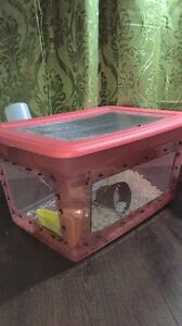 Home made hamster cage