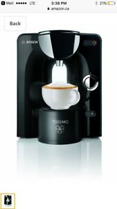 High Quality Tassimo Brewer with coffee