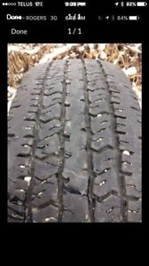 P235/75R17 Hankook Dynapro AT. Set of four.