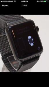 Apple Watch Series 3(GPS+LTE)42mm Space Black Stainless Steel