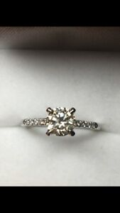 0.94ct Engagement Diamond Ring