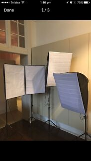 Wanted: Soft boxes - set of 4