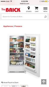 Upright freezer and all fridge for sale