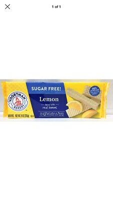Voortman Sugar Free Lemon Wafers Cookies 9 oz Lemon Sugar Free Cookies