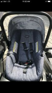 Car seat with two bases! Evenflo