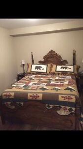 Antique Queen Bed Just Reduced!!