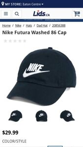 Nike air cap (one size fit all)