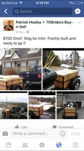 Newly built trailer for sale!