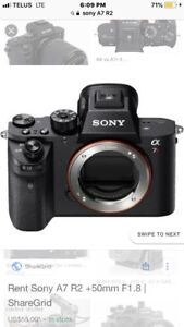 Sony ALPHA A7 R2 (NEW IN BOX)
