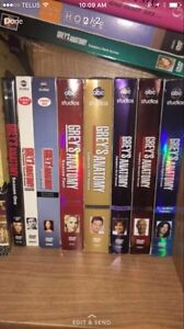 Various tv show seasons on DVD