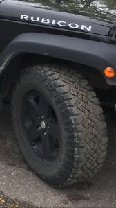 Jeep rims/wheels Goodyear Duratrac tires 33