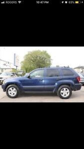 2005 Jeep Grand Cherokee. LOW KM