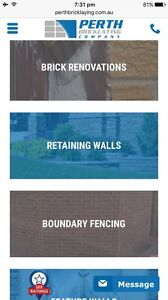 Perth Bricklaying Company Heathridge Joondalup Area Preview