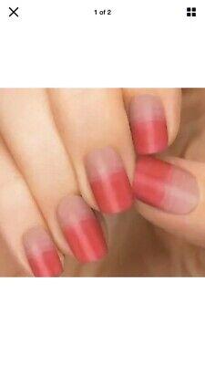 Incoco Strawberry Glaze Nail Polish Strips Pink-New!
