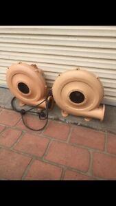 2x 450W electric air blower