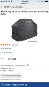 Brand New Broil King BBQ cover