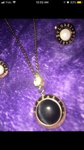 Authentic-like bvlgari necklace & earrings