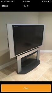 """50"""" Panasonic DLP Television with stand"""