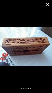 LOST/STOLEN vintage wooden box with memories inside Lathlain Victoria Park Area Preview