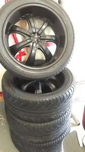 Yokohama Advan S.T tires with rims