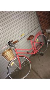 Vintage Ladies Bike - Pink
