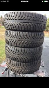 STUDDED 225/55/18 TIRES