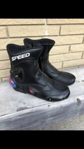 Speed Motorcycle boots
