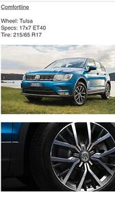 2017 Genuine VW Tiguan Wheels & Tyres *Brand New* Newcastle Newcastle Area Preview