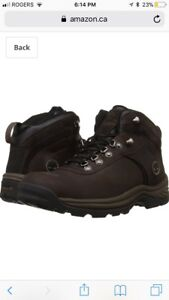 New men's timberland flume mid waterproof boots-size 10