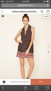 SIZE LARGE DRESSES FROM FOREVER 21