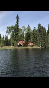 Remote Northern Sask cabin