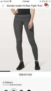 Higher rise wunder under full on luxtreme tights
