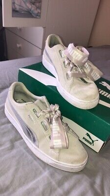 puma suede trainers size 6