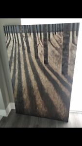 Wall art forest