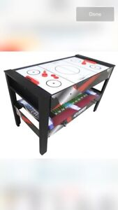 4 in 1 Rotating Games table