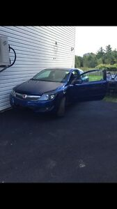 08 Saturn Astra xr 5 spd 5 seats 2 doors 1.8l