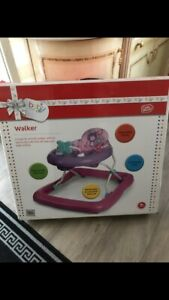 Chad valley Baby Walker, Pink, Brand New