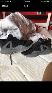 Jordan Formula 23's grey and black shoe