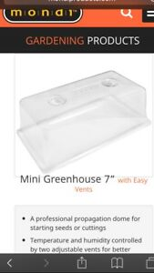 Mondi Grow dome with plant tray set (Brand New)