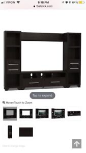 4pc entertainment unit