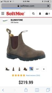 Brand new with tags blundstone brown boots