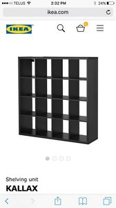 IKEA shelving unit KALLAX